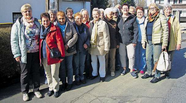 Frauengruppe des FGV Marktleuthen in Bad Alexandersbad