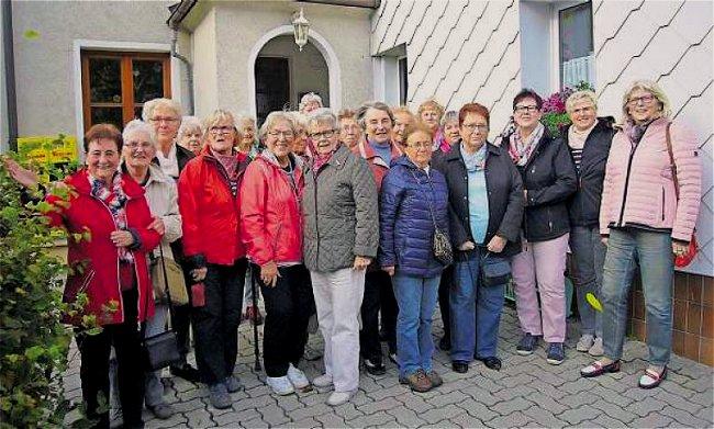Wanderung der Frauengruppe des FGV Marktleuthen nach Wintersreuth