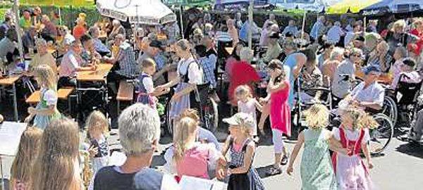 Sommerfest des Louis-Röll-Seniorenzentrums in Marktleuthen